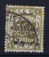 Palestine: 1920  Mi Nr 21 II A Used   Perfo 15:14 - Palestine