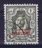 Palastine 1948 Jordan Occupation Mi Nr 16 Used - Palästina