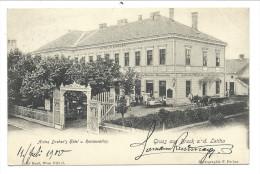 ///  CPA - Autriche - Gruss Aus BRUCK AN DER LEITHA - Anton Dreher's Hôtel U. Restauration   // - Bruck An Der Leitha