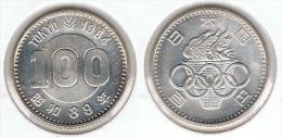 JAPON 100 YEN 1964 OLIMPIADA PLATA SILVER G2 BONITA - Japón