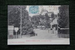 CHARBONNIERES LES BAINS - Les Abords De La Gare - Charbonniere Les Bains