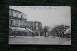 ALAIS ( ALES ) - Avenue De La Gare - Alès