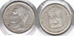 VENEZUELA  50 CENTAVOS  BOLIVAR 1954 PLATA SILVER G1 - Venezuela
