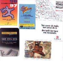 11-1052. Calendarios Publicitarios, Año 1996. 6 Diferentes - Calendarios