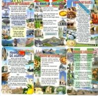 11-1417. Lote De 11 Calendarios Himnos Comunidades Autónomas - Calendarios