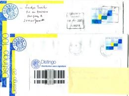 2 PAP Lettre Distingo + 1 PAP Cartonné - Lot 29 - Entiers Postaux