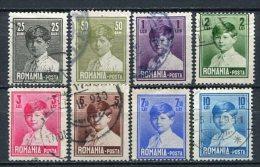 Romania Ex.Nr.321/8         O  Used       (298) - Gebraucht