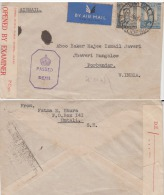 Southern Rhodesia  1943  Censored Cover To India  #  85049 - Zuid-Rhodesië (...-1964)