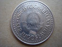 YUGOSLAVIA  1986  FIFTY DINARA  USED COIN In VERY GOOD Condition. - Yugoslavia