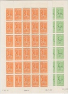 Europa Cept 1966 Monaco 2v Sheetlets (unfolded) ** Mnh (F3750) - 1966