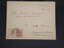 ESPAGNE-Enveloppe De Madrid Pour Bagnoles De Luchon En 1886    à Voir P7254 - 1875-1882 Royaume: Alphonse XII
