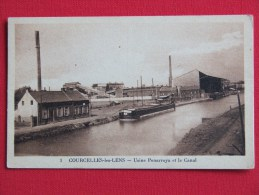 COURCELLES LES LENS : Usine Penarroya Et Le Canal - Ohne Zuordnung