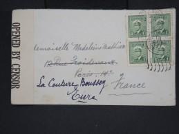 CANADA-Enveloppe De Winnipeg Pour La France En 1945 Avec Censure   à Voir P7257 - Cartas