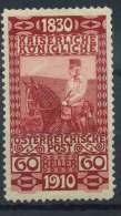 #15-05-00675 - Austria - 1910 - SG 235 - MH - QUALITY:100%
