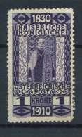 #15-05-00676 - Austria - 1910 - SG 236 - MH - QUALITY:100%