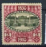 #15-05-00677 - Austria - 1910 - SG 237 - MH - QUALITY:20% - thin