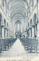 CPA Fumay Intérieur De L'Eglise - Fumay