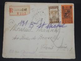FRANCE-GABON-Enveloppe En Recommandée De Lambaréné Pour Paris En 1933 à Voir P7263 - Covers & Documents