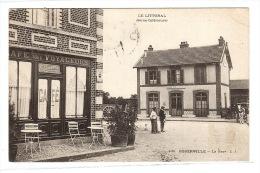 GODERVILLE (76) - LE LITTORAL - La Gare - CAFÉ DES VOYAGEURS - Ed. L. J. - Goderville