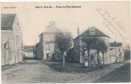 JUILLY - Place Du Père Defrance - France