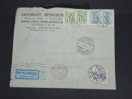 AUTRICHE-Enveloppe Par Avion De Wien Pour Paris En 1934 à Voir P7277 - 1918-1945 1. Republik