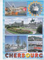 CHERBOURG (50-Manche), Paquebot, Carte Multi-vues, Ed. Le Goubey - Cherbourg