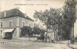 Yvelines : Ponthierry, Avenue De La Gare - France