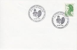 SCHACH-CHESS-ECHECS-SCACC HI, FRANCE, 1988, Special Postmark !! - Schaken