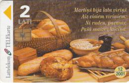 LATVIA - Martins Day, Exp.date 12/01, Used - Latvia