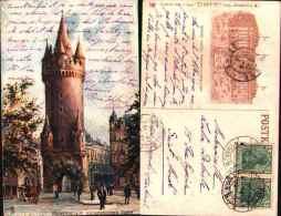 Raphael Tuck & Sons - Grand Hotel Frankfurter-hof, Eschenheimer Turm - Tuck, Raphael