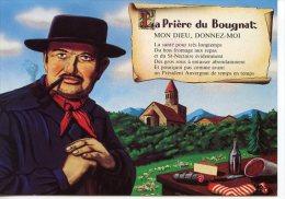 La Prière Du Bougnat : Santé Fromage Sous Président St Nectaire Dessin Charcuteries Bas De Laine Vin édit Artisanales - Saint Nectaire