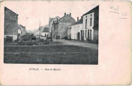 Carte Postale Ancienne De ETALLE - RUE DU MOULIN - Etalle