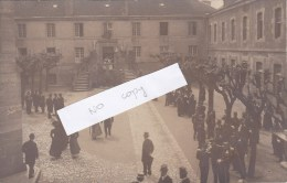 Verdun,collége Marguerite,cour D Honneur,inauguration 30 Mai 1908,carte Photo - Verdun
