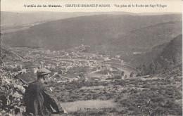 CPA Chateau Regnault Bogny, Vue Prise De La Roche Des Sept Villages - Ohne Zuordnung