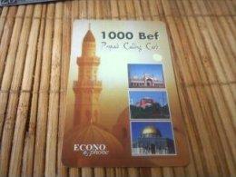 Econo Phone 1000 Bef Tower With Rare Diamond Telecom logo on Backside  2 Scans Used rare