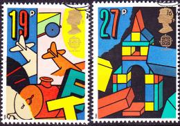 Großbritannien Great Britain Grande-Bretagne - Europa (MiNr: 1202/5)1989 - Gest. Used Obl. - 1989