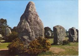 Dolmen Dolmens..Menhirs..Mégalithes Pierres Rochers Carnac Les Menhirs De Kermario - Dolmen & Menhirs