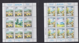 Europa Cept 1999 Bosnia/Herzegovina Serbia 2v Sheetlets  ** Mnh (22704) - Europa-CEPT