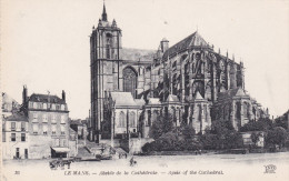 LE MANS, Sarthe, France, 1900-1910's; Apsis Of The Cathedral - Le Mans