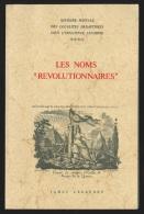 Les noms r�volutionnaires par Legendre