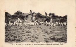 SOMALIE - Bergers Et Leurs Troupeaux - Somalie