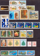 Canada 1981 SG #1001-1031 Compl.year MNH 31 Stamps - Canada