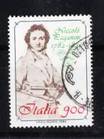 Italia    -    1982. Niccolò Paganini.  Timbro Lusso - Music