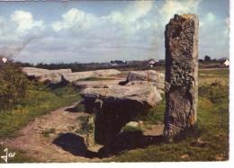 Dolmen Dolmens..Menhirs..Mégalithes Pierres Rochers Locmariaquer Dolmen Des Pierres Plates - Dolmen & Menhirs