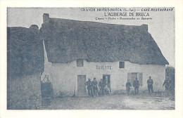 ¤¤  -   SAINT-LYPHARD  -  BRECA   -  Café-Restaurant  -  L'Auberge De Bréca  -  Carte Publicitaire Moderne   -  ¤¤ - Saint-Lyphard