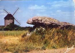 Dolmen Dolmens..Menhirs..Mégalithes Pierres Rochers La Baule Kerbourg Moulin Dolmen Moulin à Vent - Dolmen & Menhirs