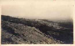 Carte Photo Anglaise - Au Dos Il Est Ecrit Manuellement : Vue De CRAONNE  (ardennes) - War 1914-18