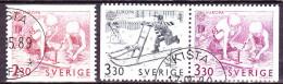 Schweden Sweden Suède - Europa (MiNr: 1549/51) 1989 - Gest. Used Obl. - 1989