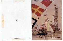 CPSM - Roger CHAPELET - CPSM Signée Par Les Marins-pêcheurs Du Havre - 1970 - Ed. Antoine - Nouvel An