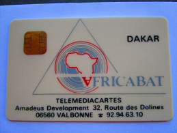 RARE SENEGAL   AFRICABAT   TELEMEDIACARTES   RARE